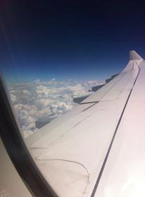 Ponad chmurami. W drodze do USA na Talent ID Camp.