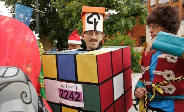 Człowiek Kostka Rubika