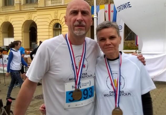Jadwiga Przybyło i Mariusz Masiarek IV GMNW