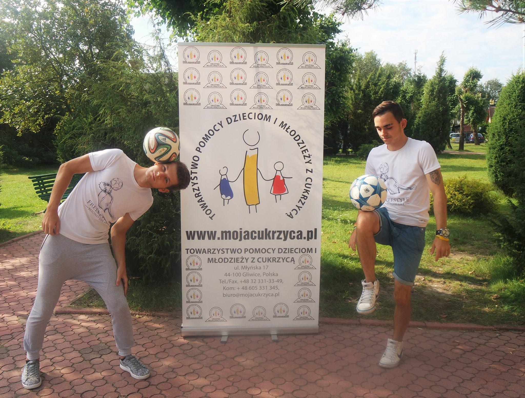 Adrian i Łukasz z Freestyle Beyond Life